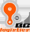 Logo von BG Logistics Koeriersdienst Uw spoedkoerier voor het versturen van zendingen in binnen- en buitenland